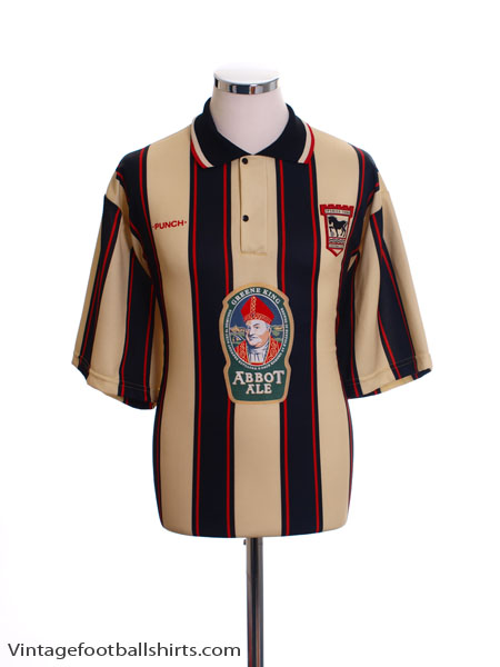 1996-98 Ipswich Away Shirt *Mint* L