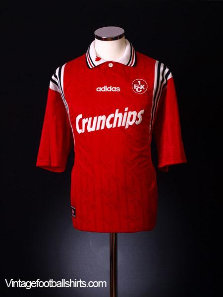 1996-98 Kaiserslautern Home Shirt L