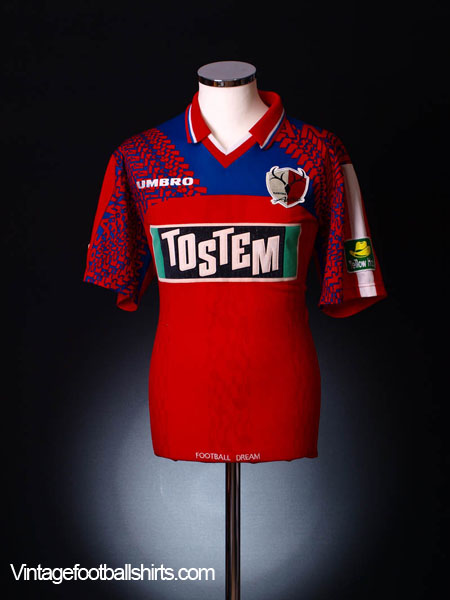 1996-98 Kashima Antlers Home Jersey L