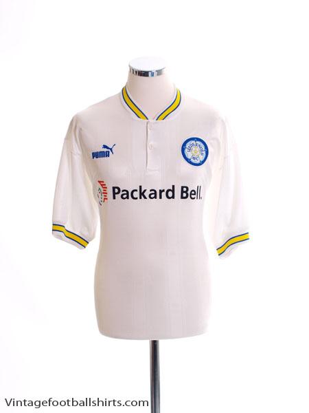 1996-98 Leeds Home Shirt L