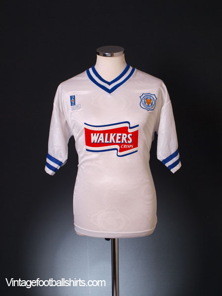 1996-98 Leicester Away Shirt *As New* XL