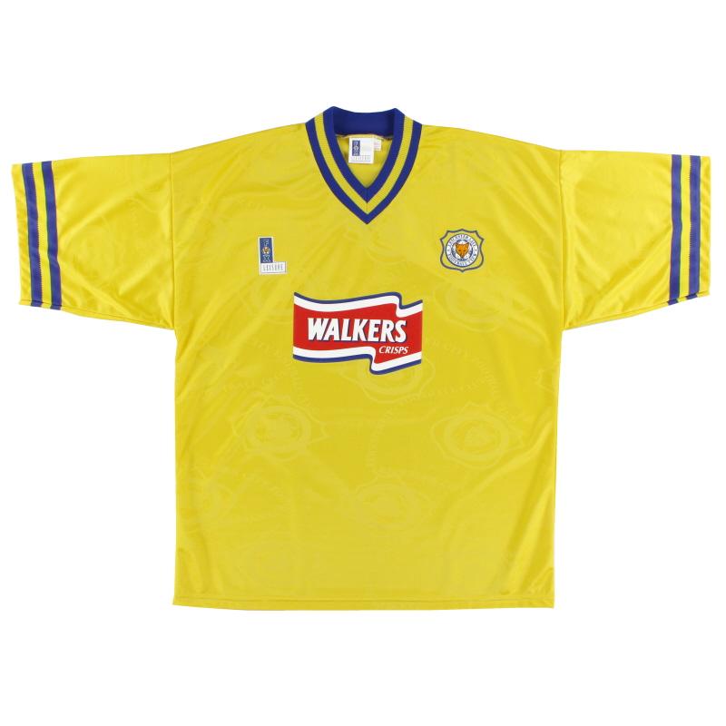 1996-98 Leicester Third Shirt XXL