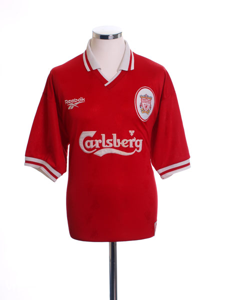 1996-98 Liverpool Home Shirt Y