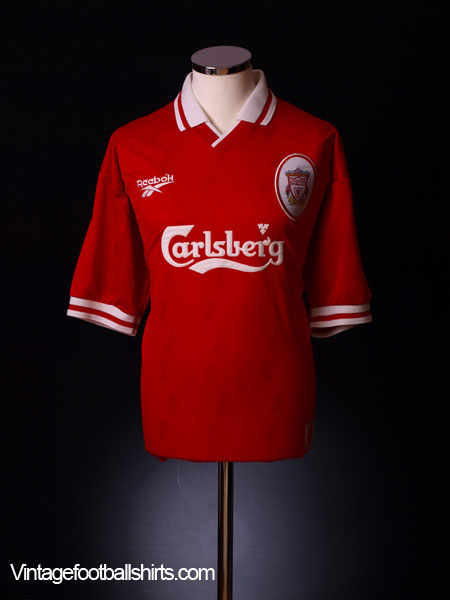 1996-98 Liverpool Home Shirt M.Boys