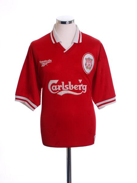 1996-98 Liverpool Home Shirt L
