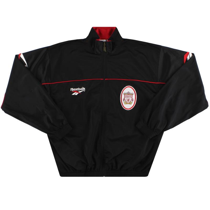 1996-98 Liverpool Reebok Track Jacket S - 961932