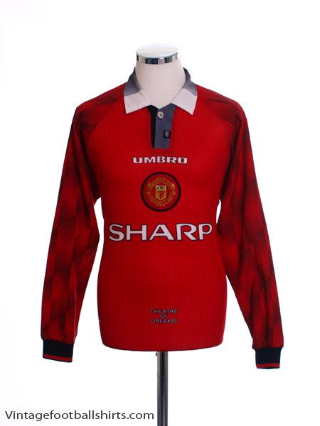 6fa4d59c3e0 1996-98 Manchester United Home Shirt L S XL for sale