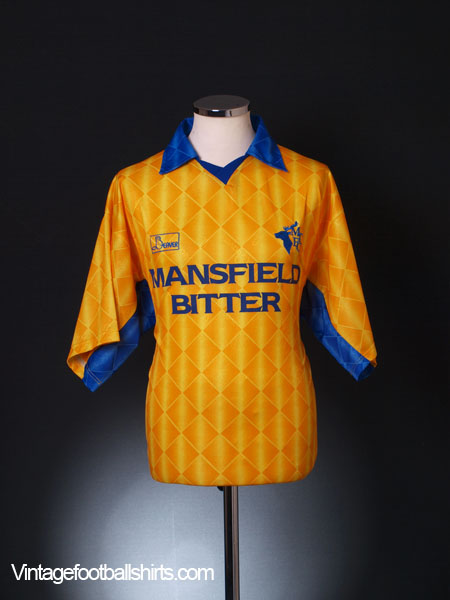 1996-98 Mansfield Town Home Shirt L