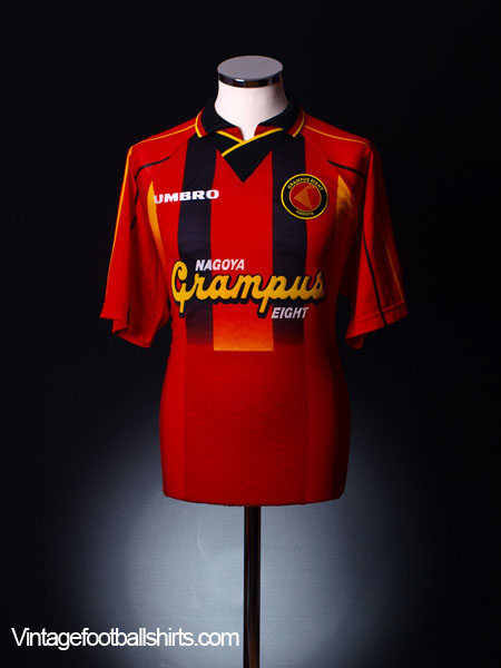 1996-98 Nagoya Grampus Eight Home Shirt L