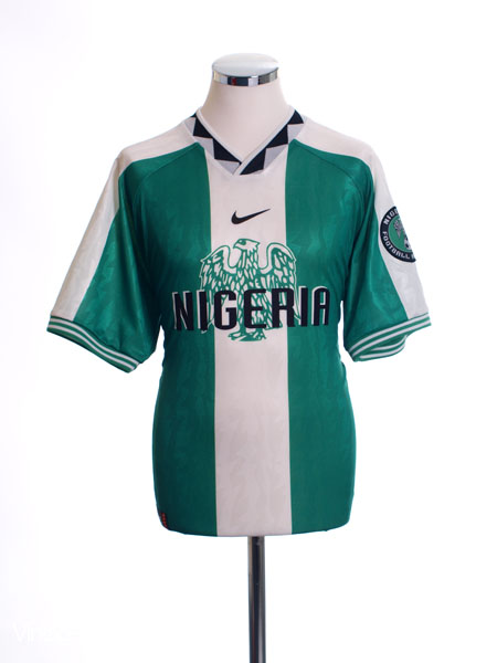 1996-98 Nigeria Home Shirt *Mint* L