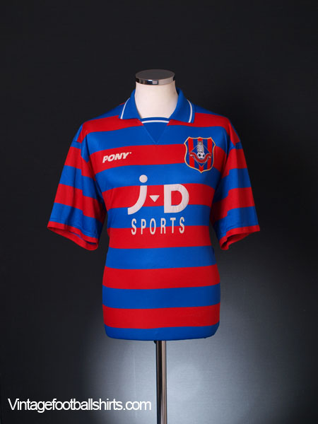 1996-98 Oldham Home Shirt L