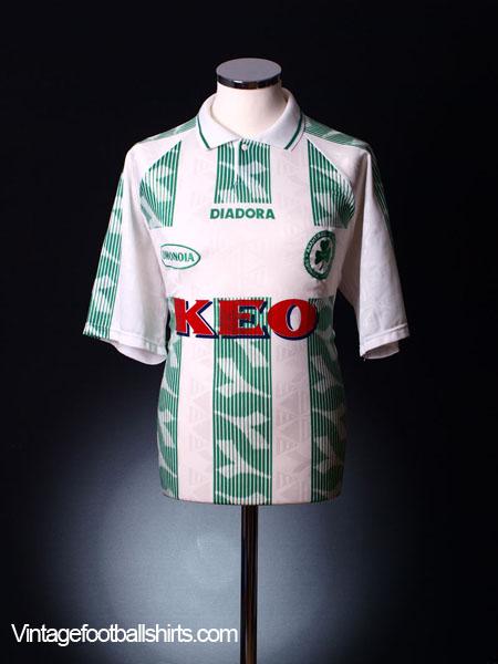 1996-98 Omonia Nicosia Away Shirt XL