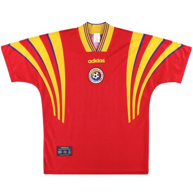 1996-98 Romania adidas Away Shirt M - 098161