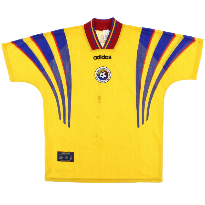 1996-98 Romania Home Shirt L