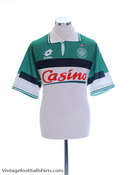 1996-98 Saint Etienne Away Shirt L