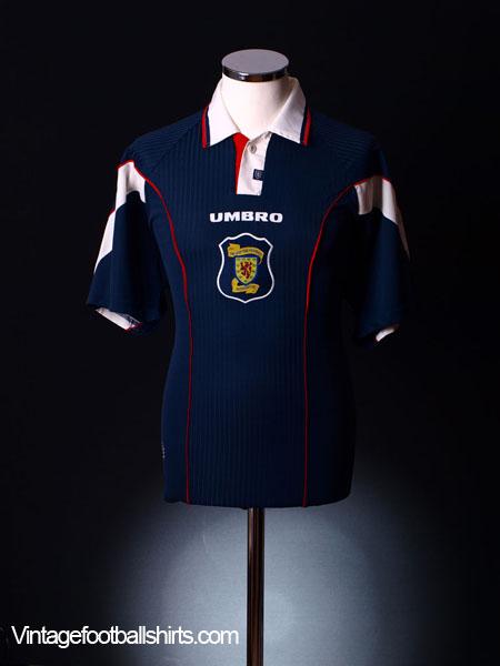 1996-98 Scotland Home Shirt XL