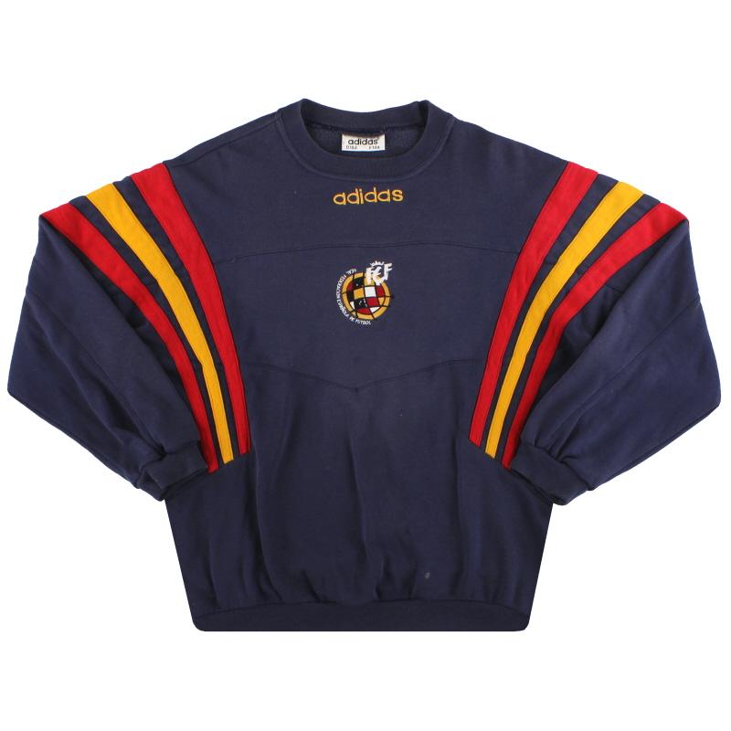 1996-98 Spain adidas Sweatshirt XL.Boys