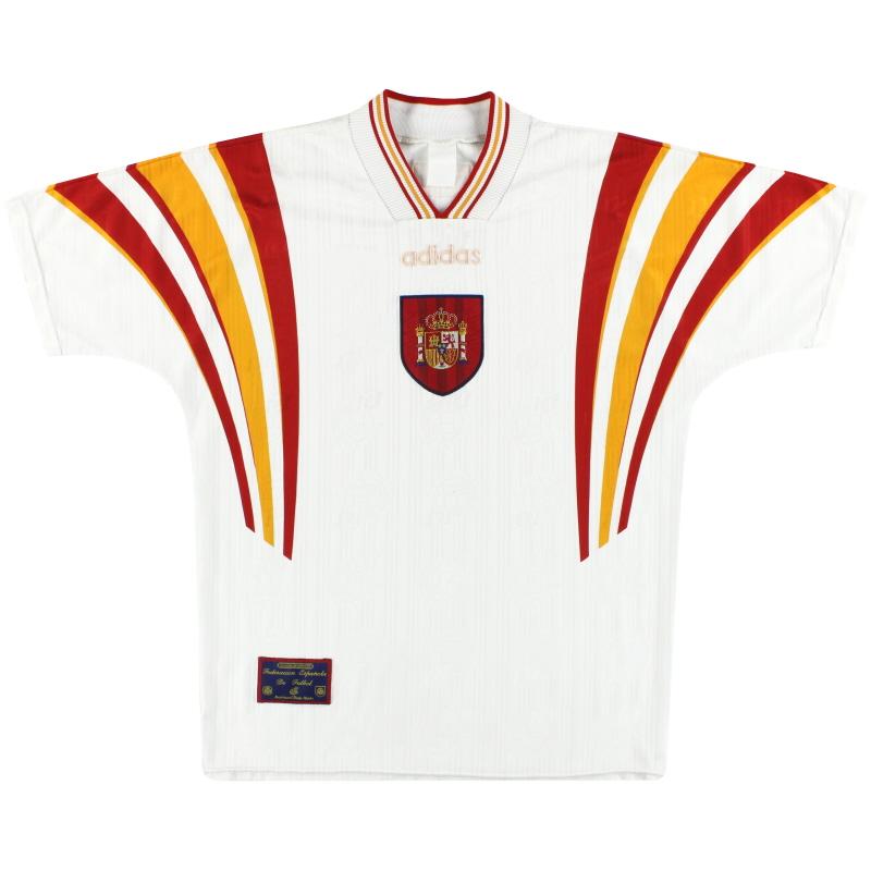 1996-98 Spain adidas Third Shirt L