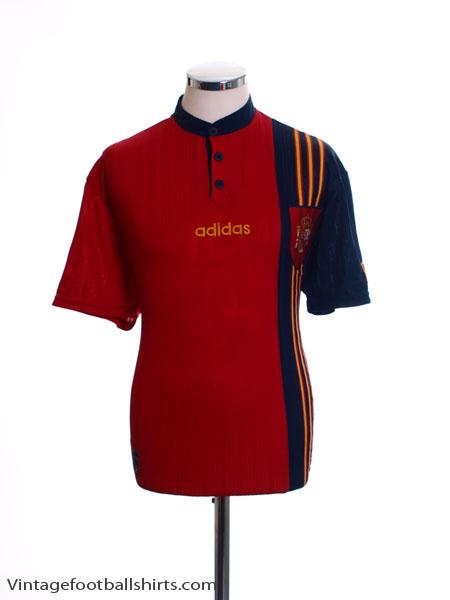 1996-98 Spain Home Shirt M
