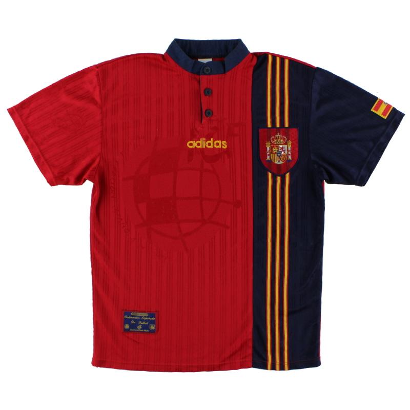 1996-98 Spain Home Shirt XXL
