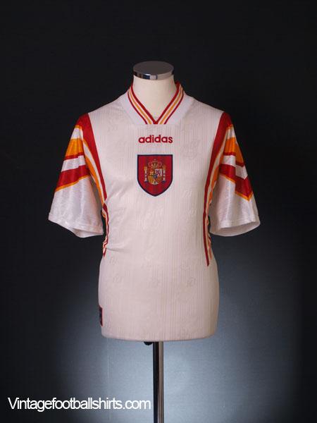 1996-98 Spain Third Shirt M