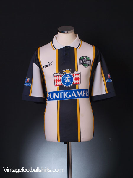 1996-98 Sturm Graz Home Shirt M