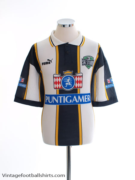 1996-98 Sturm Graz Home Shirt #10 L