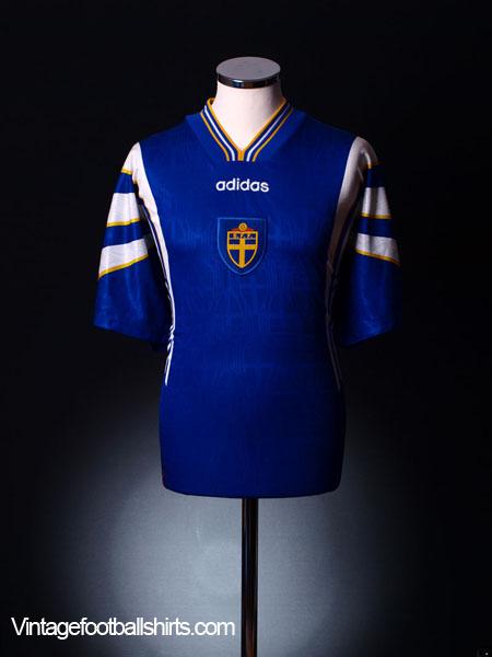 1996-98 Sweden Away Shirt L