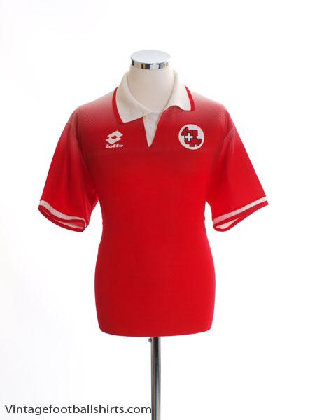 1996-98 Switzerland Home Shirt S