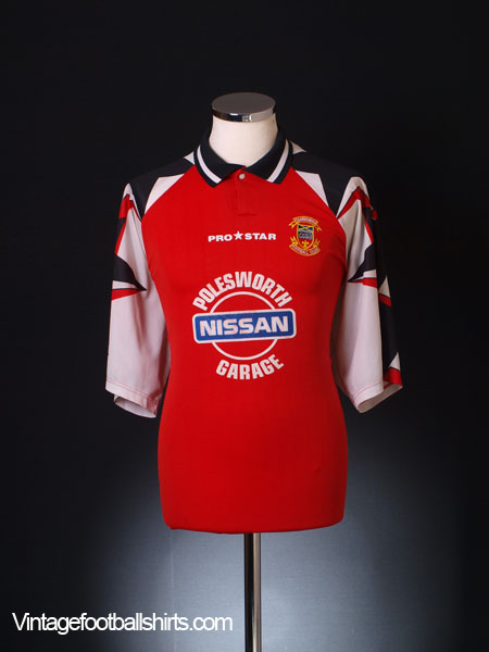 1996-98 Tamworth Home Shirt L