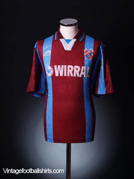 1996-98 Tranmere Rovers Away Shirt M.Boys