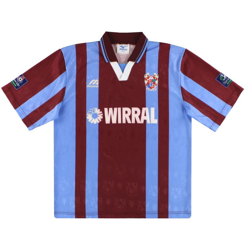 1996-98 Tranmere Rovers Mizuno Away Shirt L