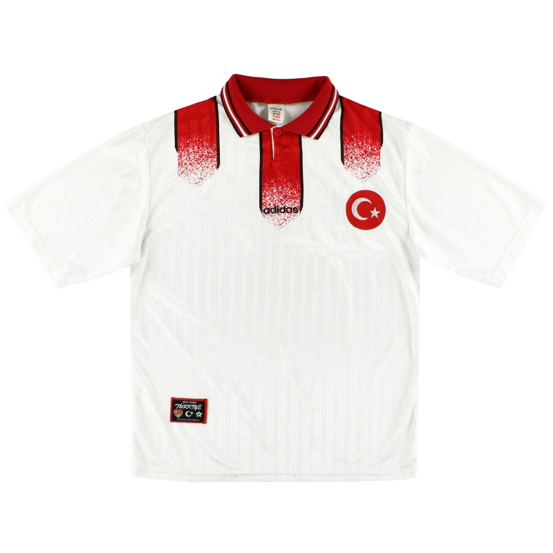 1996-98 Turkey adidas Home Shirt L