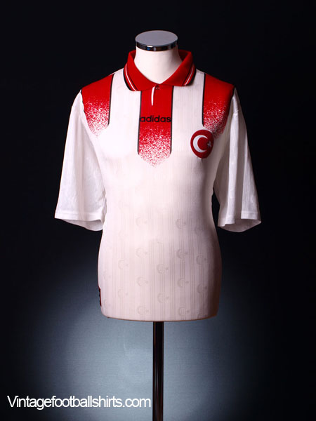 1996-98 Turkey Away Shirt XL
