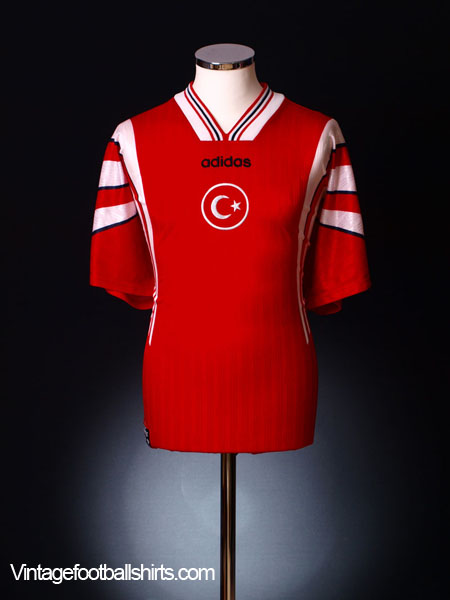 1996-98 Turkey Home Shirt M