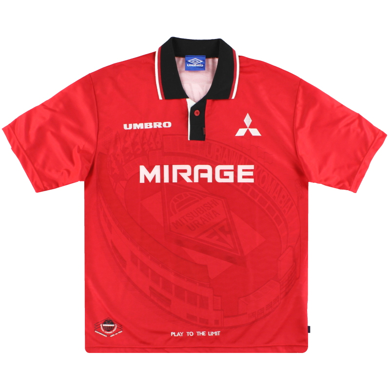 1996-98 Urawa Red Diamonds Home Shirt S