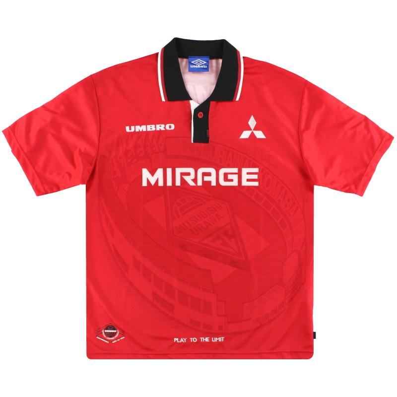 1996-98 Urawa Red Diamonds Umbro Home Shirt S