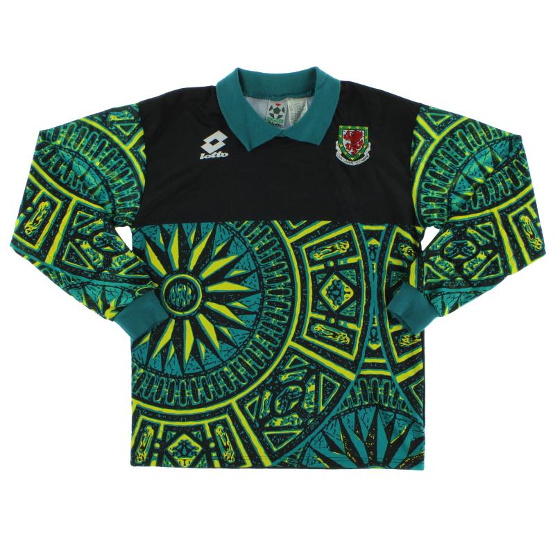 1996-98 Wales Goalkeeper Shirt *Mint* XXL.Boys