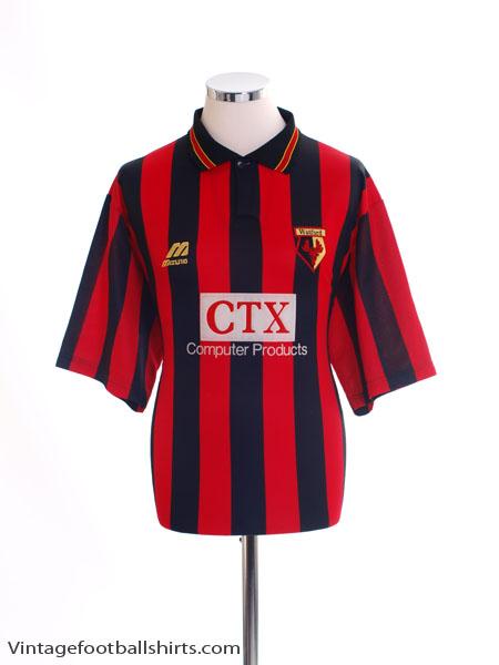 1996-98 Watford Away Shirt L