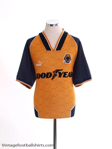 1996-98 Wolves Home Shirt M