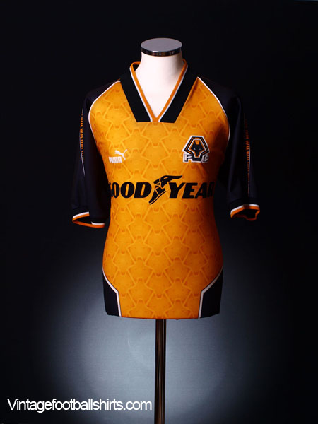 1996-98 Wolves Home Shirt L