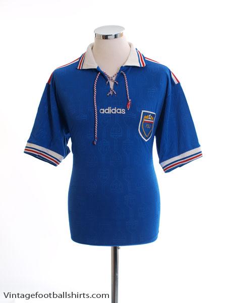 1996-98 Yugoslavia Home Shirt L