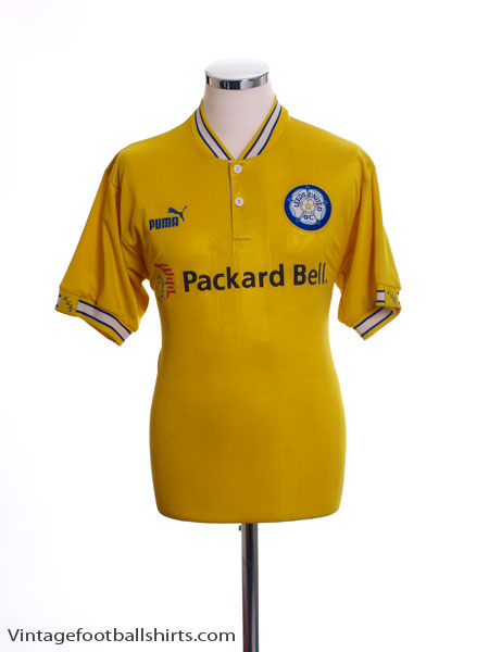 1996-99 Leeds Away Shirt S
