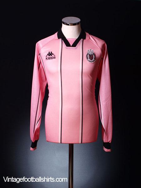 1996-99 Palermo Home Shirt L/S *Mint* XL