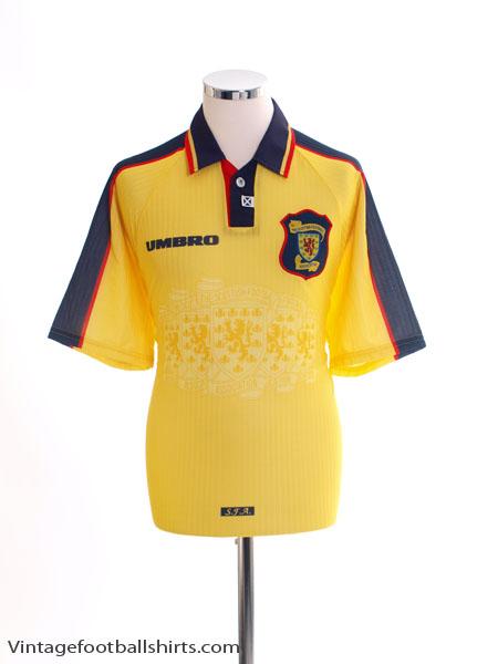 1996-99 Scotland Away Shirt L