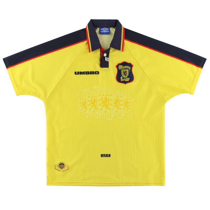 1996-99 Scotland Away Shirt XL