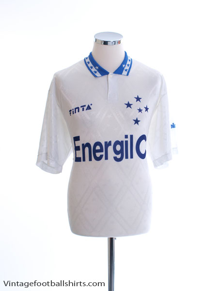 1996 Cruzeiro Away Shirt #10 L