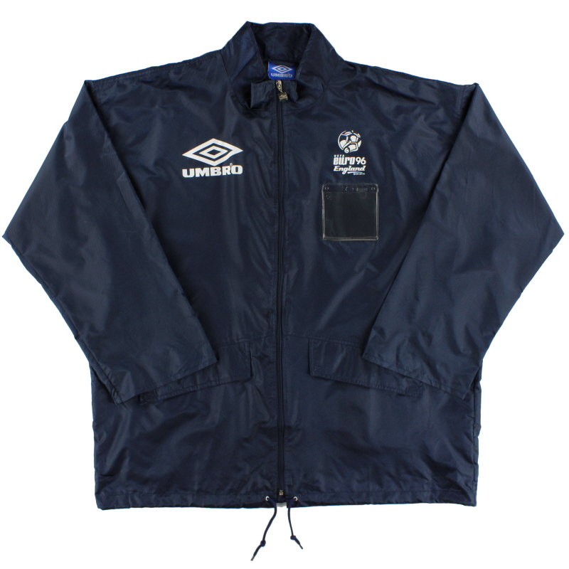 1996 Euro 96 Umbro  Press Rain Coat *As New* XXL