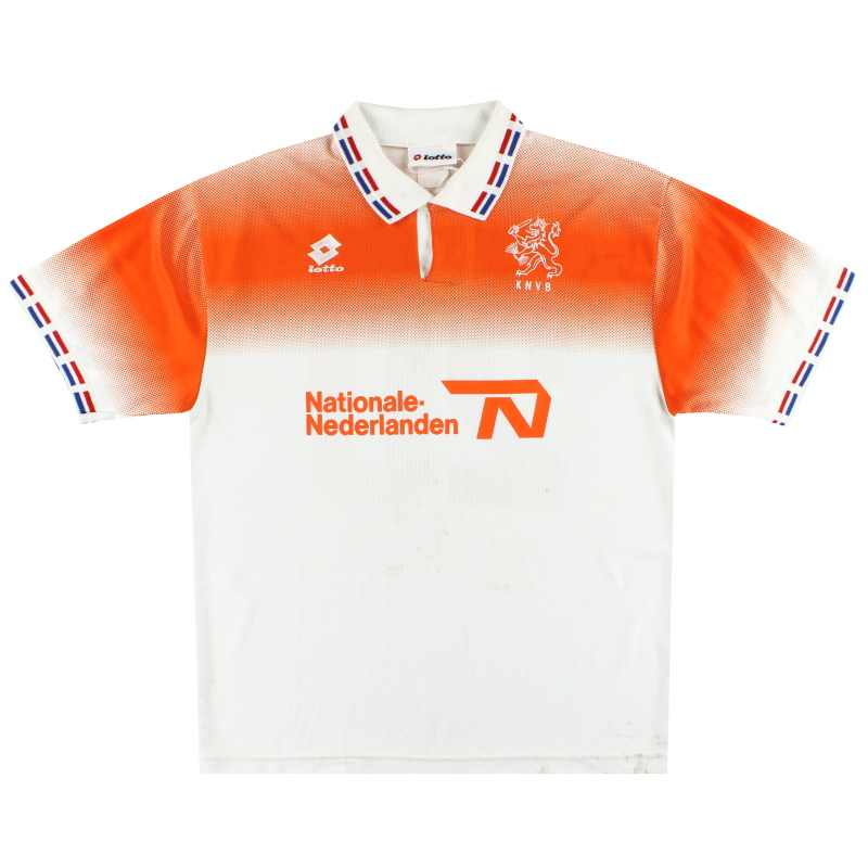 1996 Holland Lotto Player Issue Away Shirt #20 L