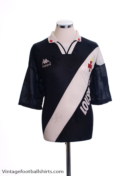 1996 Vasco Da Gama Away Shirt #9 L